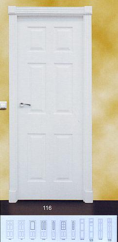 Puerta lacada blanca modelo lac 116 - Puerta lacada blanca ...