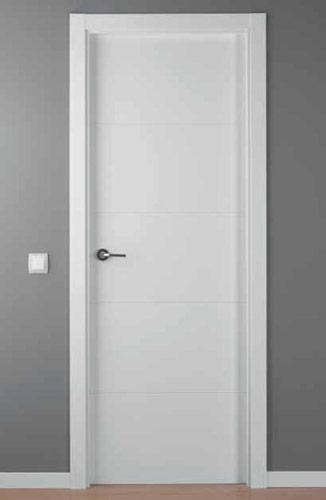 Puerta lacada blanca modelo lac 9004 g - Puerta lacada blanca ...