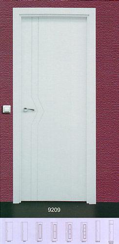 Puerta lacada blanca modelo lac 9209 for Puerta lacada blanca
