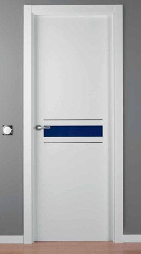 Puerta lacada blanca modelo lac crisho 1 alho2 for Puerta lacada blanca
