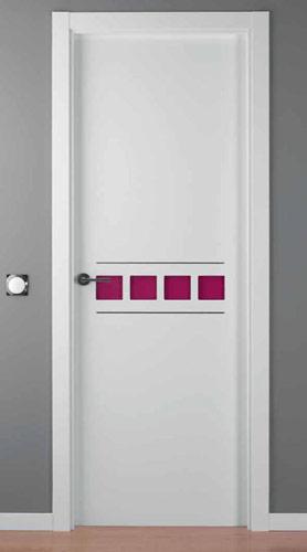 Puerta lacada blanca modelo lac crisho 4 alho2 for Puerta lacada blanca