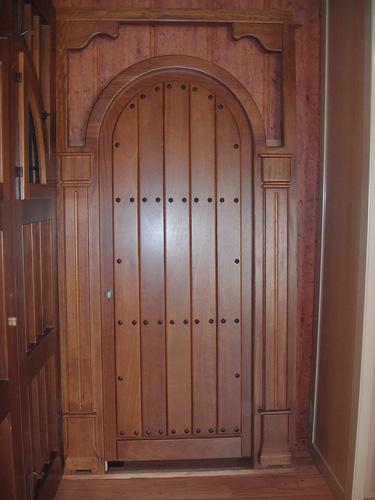 Puertas modernas de exterior puertas de madera para - Puertas de madera exterior ...