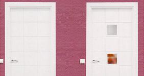 puertas interiores lacadas blancas