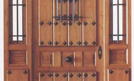 Puertas de interior y exterior puertas innova s l u - Puertas de madera exterior rusticas ...