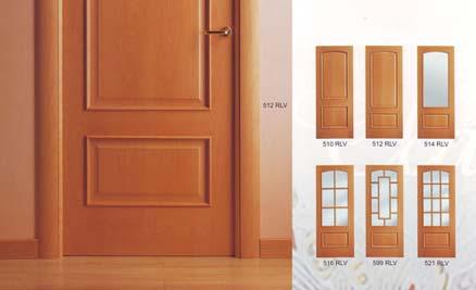 Puertas de interior y exterior puertas innova s l u for Modelos de puertas de madera para dormitorios
