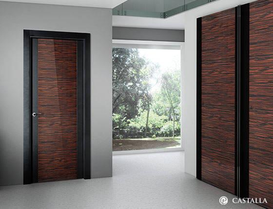 Puerta interior marca castalla modelo minerva imagin - Puertas modernas de interior ...