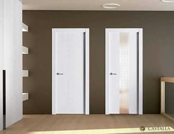 Puerta interior marca castalla modelo puerta castalla - Puertas de cristal para interiores ...