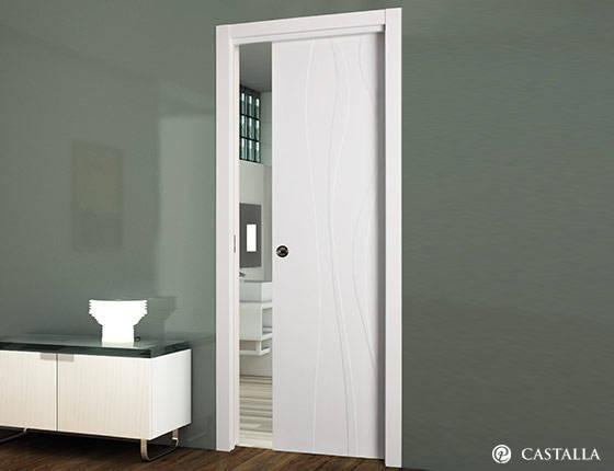 Puerta interior marca castalla modelo puerta castalla - Puertas paso blancas ...