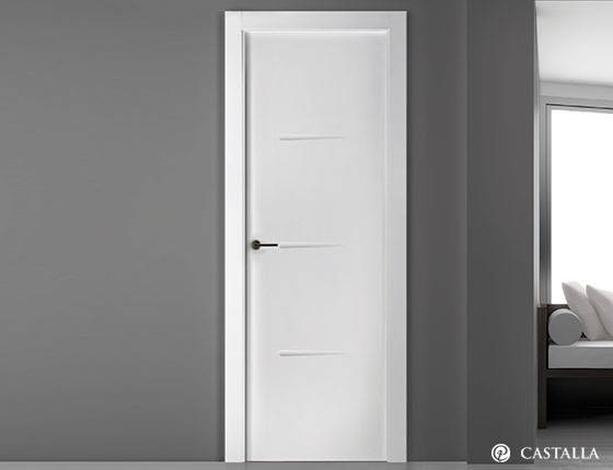 Puerta interior marca castalla modelo puerta castalla for Precios puertas interior blancas