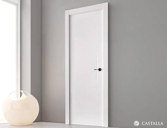 Puerta interior marca castalla modelo puerta castalla for Oferta puertas blancas interior