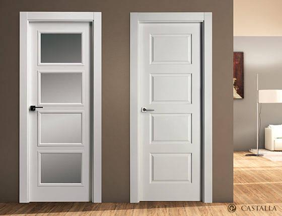 Puerta interior marca castalla modelo puertas castalla - Cristales puertas interiores ...