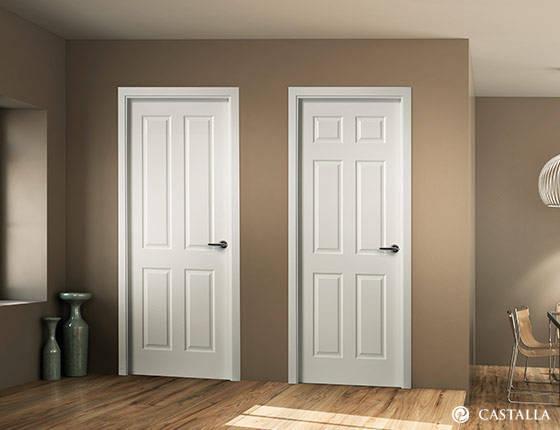Puerta interior marca castalla modelo puertas castalla for Precios puertas interior blancas