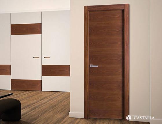 Puerta interior marca castalla modelo praga lisa for Cambiar aspecto puertas de interior
