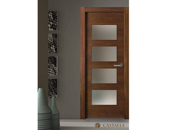 Puerta interior marca castalla modelo misuri tempo for Modelos de puertas de madera interiores