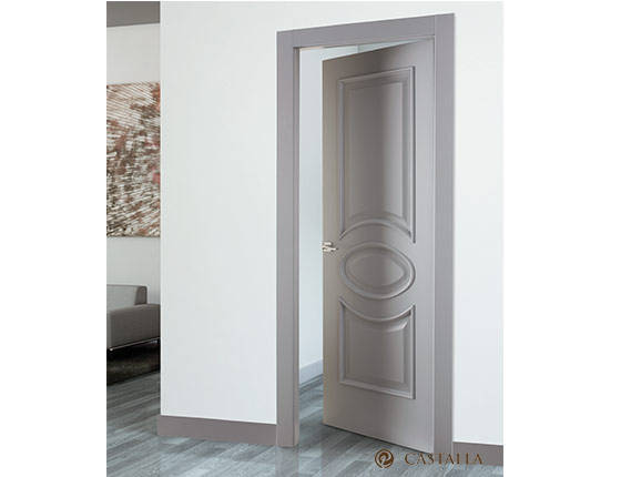 Puerta interior marca castalla modelo violin carpinteria - Puertas piso interior ...