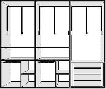 Interiores para armarios empotrados puertas innova s l u - Complementos para armarios empotrados ...