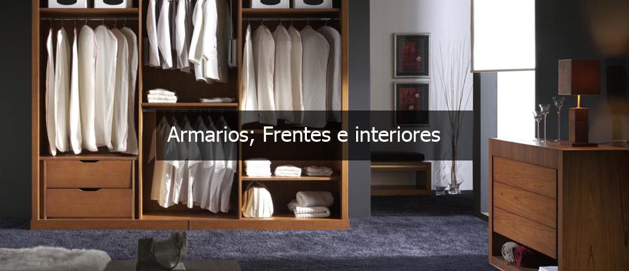 Frentes de armario y vestidores