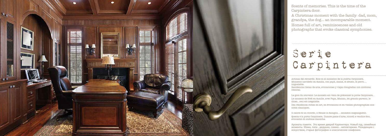 puertas castalla serie carpintería