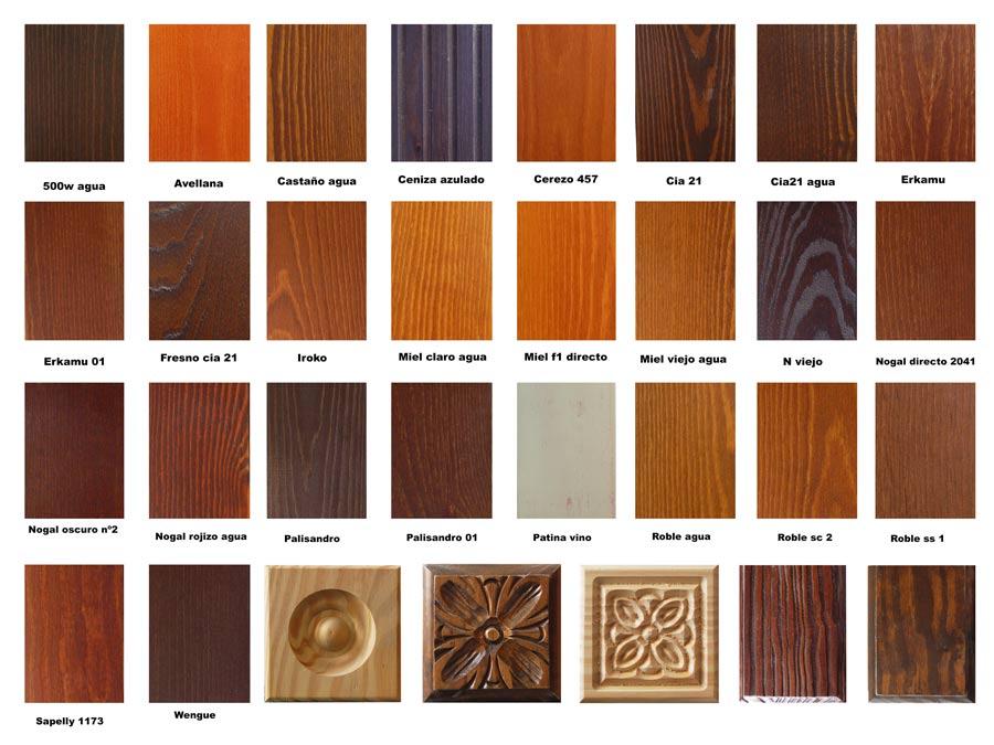 Puerta interior r stica modelo mixta 35 puertas innova s l u - Colores para puertas de madera interiores ...