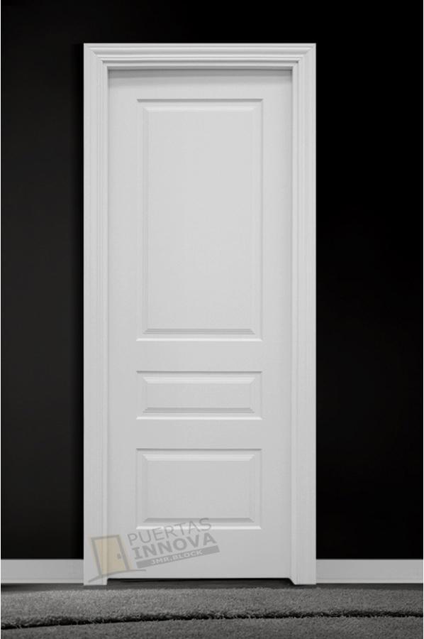 Puerta lacada blanca lac 113 puertas innova s l u for Puerta lacada blanca