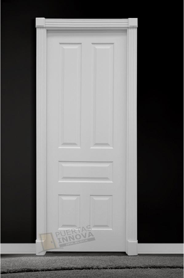 Puerta lacada blanca lac 115 puertas innova s l u for Puerta lacada blanca