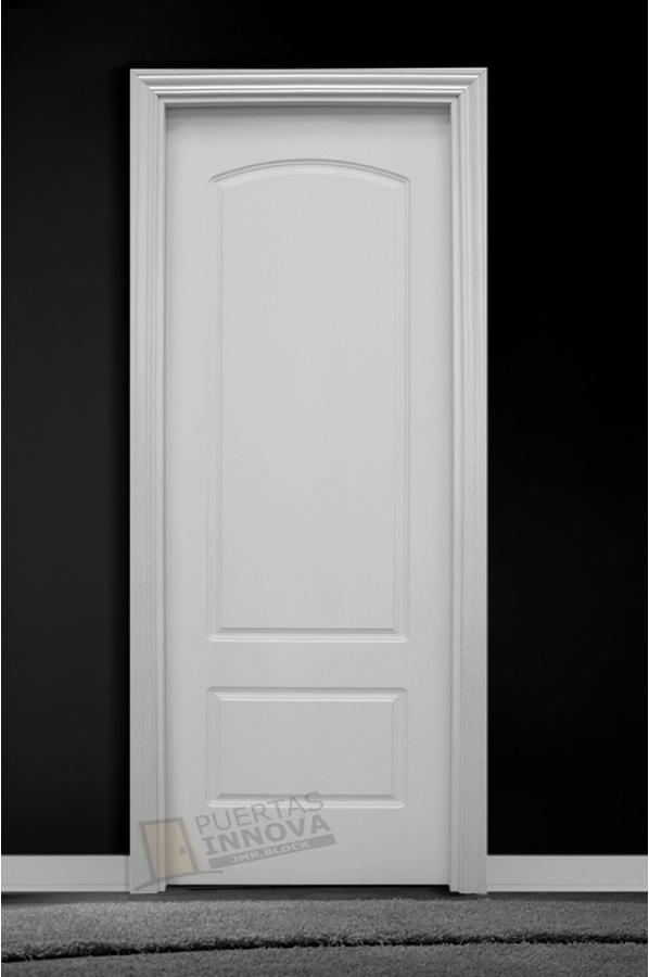 Puerta lacada blanca lac 1202 puertas innova s l u for Puerta lacada blanca