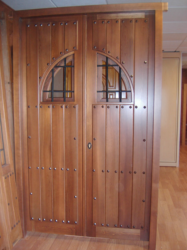 Puerta exterior r stica 004 puertas innova s l u - Puerta rustica exterior ...