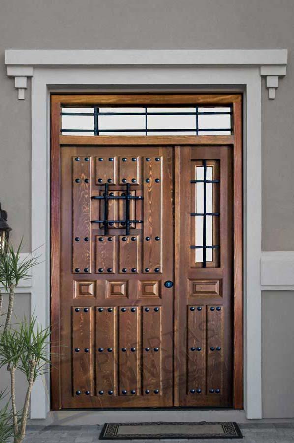 Puerta exterior r stica modelo 19 puertas innova s l u - Puerta rustica exterior ...