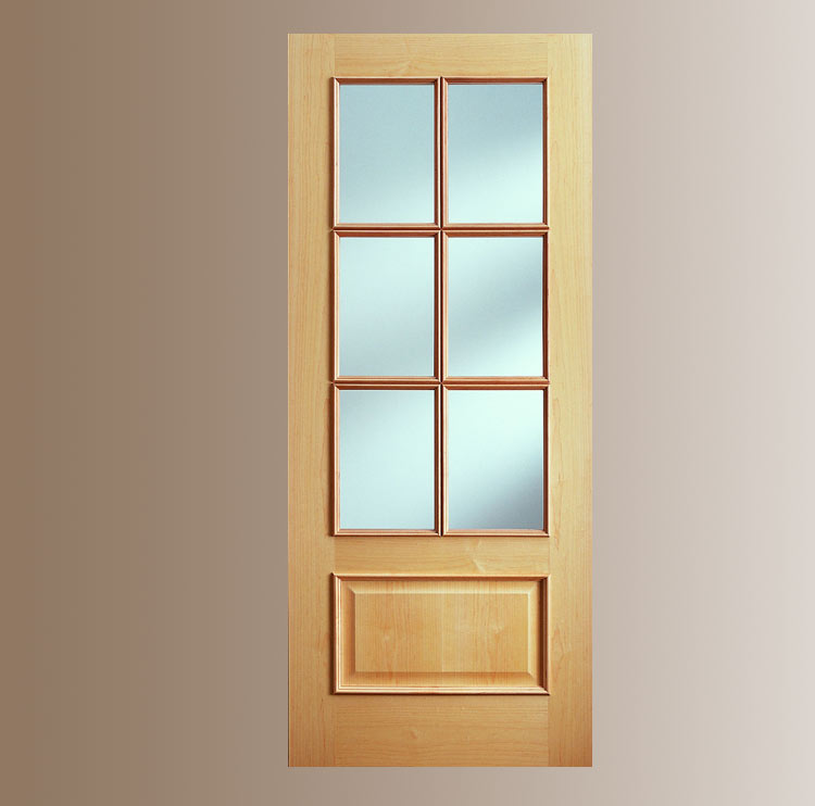 Puerta interior madera cl sica v6 iris puertas for Catalogo puertas interior