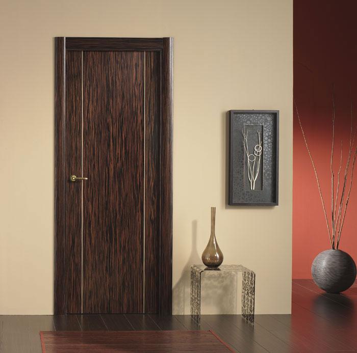 Puerta interior moderna precio base roble y haya for Precio puerta roble