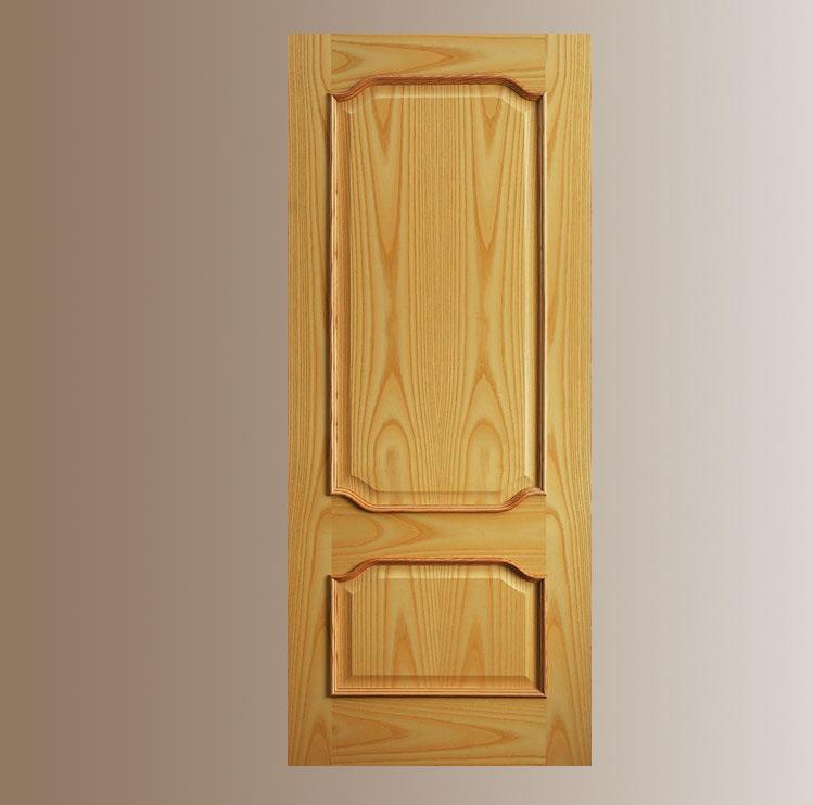 Puerta interior madera cl sica olimpia puertas - Puertas interior asturias ...