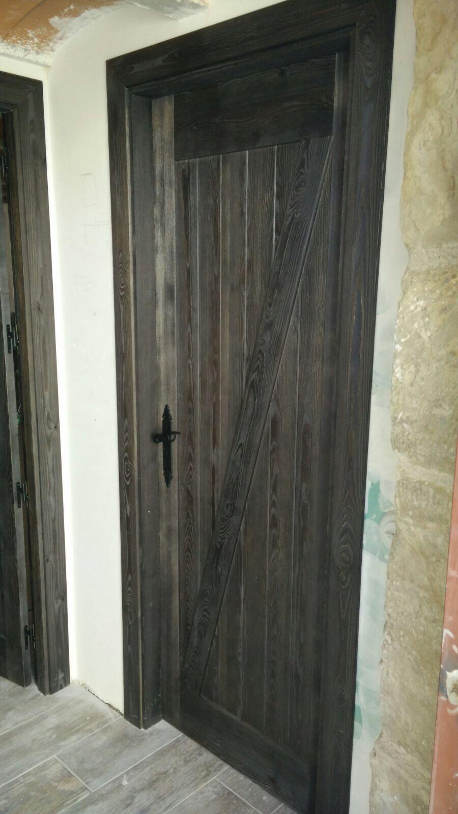 Puerta interior rustica modelo granero z puertas innova for Puertas rusticas de interior baratas