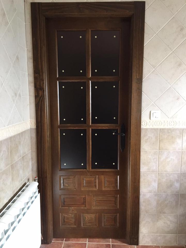 Puerta interior rustica modelo castellana puertas innova - Puertas rusticas interior ...