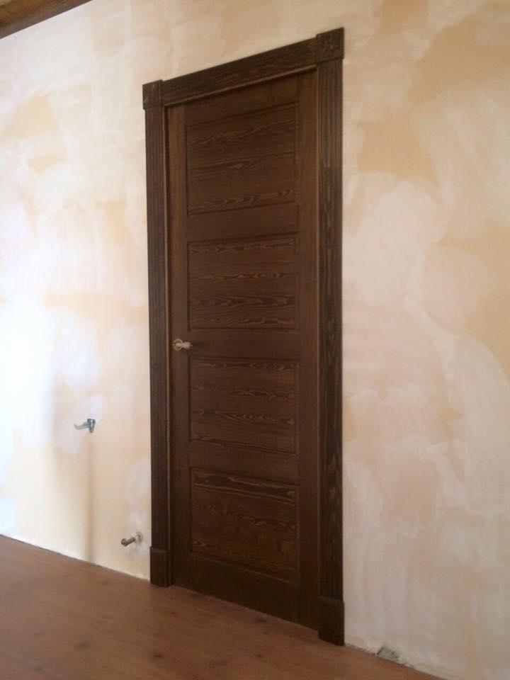 puerta interior r stica modelo madrid puertas innova s l u