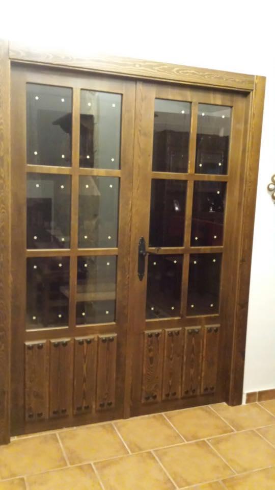 Puerta interior r stica modelo 302 puertas innova s l u - Puertas rusticas interior ...