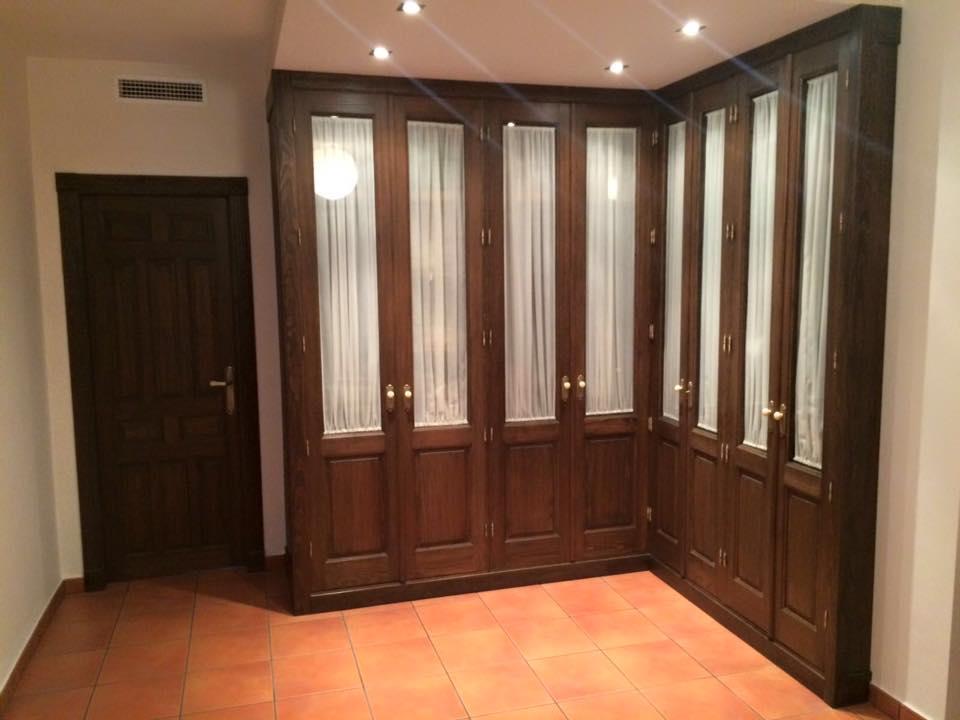 Armario vestidor obra realizada en picassent valencia for Puertas interior valencia