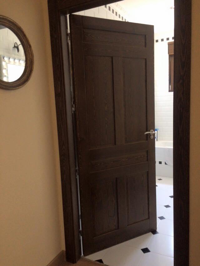 Puertas rusticas de interior modelo iker puertas innova for Puertas rusticas interior