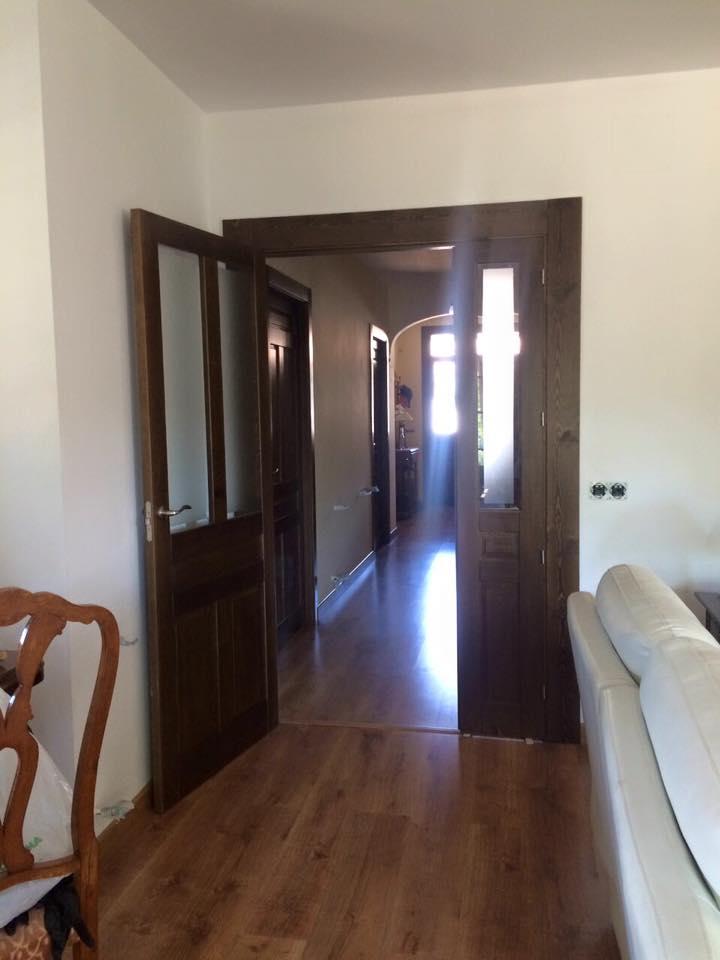 Puertas rusticas de interior modelo iker puertas innova for Manillas puertas rusticas