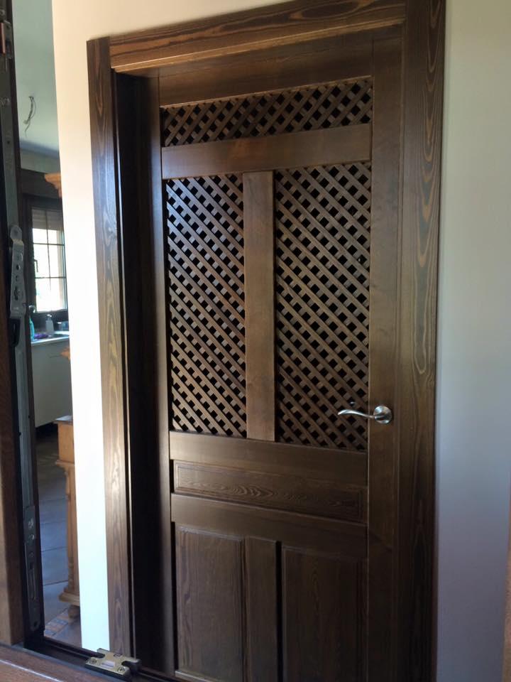 Puertas rusticas de interior modelo iker puertas innova s l u - Puertas interiores rusticas ...