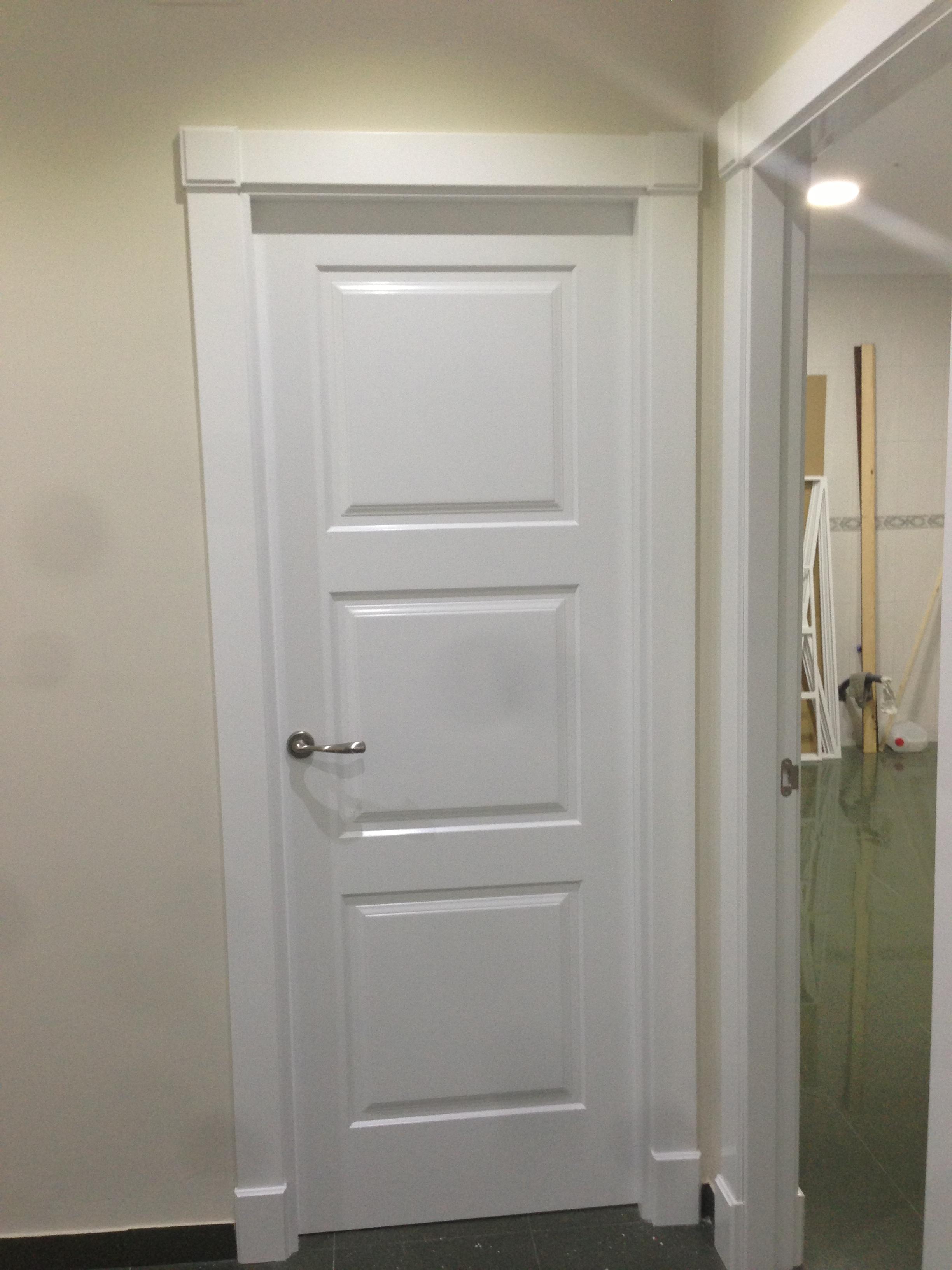 Trabajo realizado puertas innova s l u - Puertas blancas de interior ...