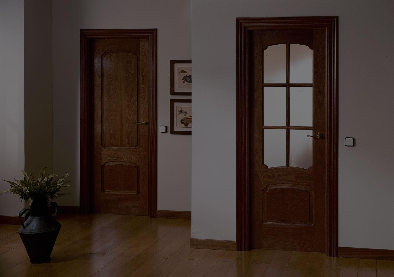 puertas interiores clásicas
