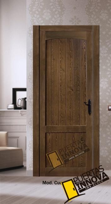 puerta interior de madera modelo Cuenca