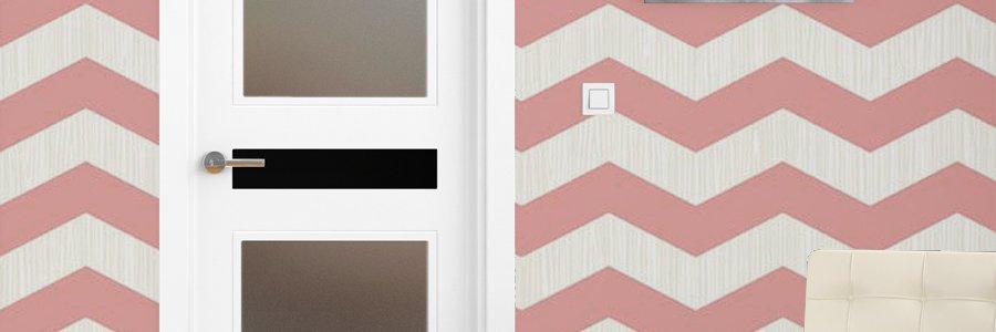 combinacion color puertas blancas