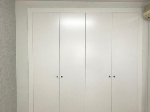 Puertas blancas lisas