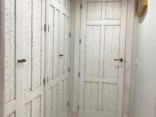 puertas rústicas de interior modelo Rivas