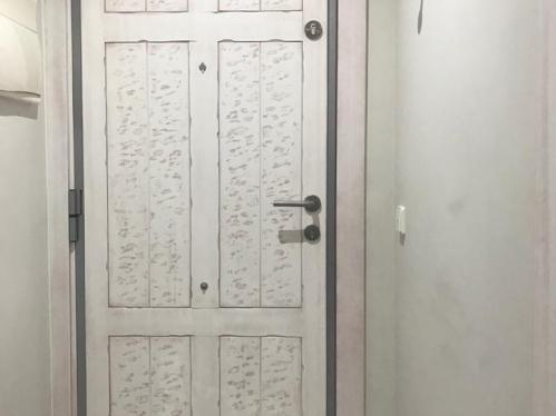 panel para puerta acorazada modelo Rivas