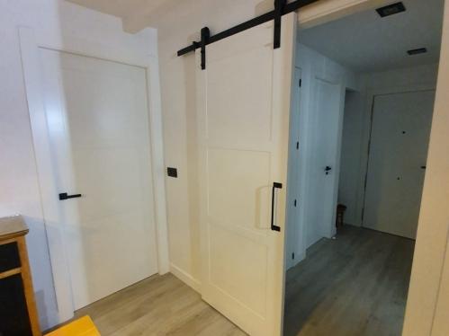 Puertas lacadas blancas modelo lac-5103