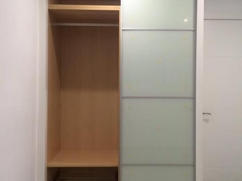 Frentes de armario correderos JAPONES y interior completo