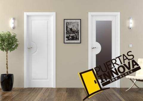 puertas lacadas blancas