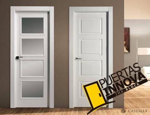 Puerta lacada blanca precio modelo de puerta lacada - Puertas castalla precios ...